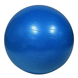 Yoga Ball Stuhl Fitness Übung Ball Balance 55 Cm Pumpe Für Haus Oder Büro,Blue,55Cm