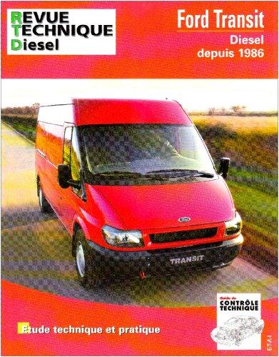Revue Technique 148.3 Ford Transit Diesel  depuis 1986