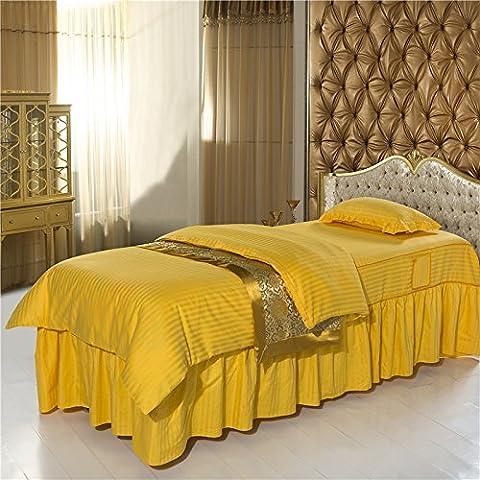Colcha de belleza Colcha cubrecama médica de colchón del masaje del cuerpo / / SPA salud y belleza masaje cama colchón cubre el conjunto de cuatro , 2 , 70*190cm
