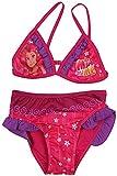 Mia & Me Girls Bademode / Schwimmen Kostüm / Bikini (3 Jahre (98 cm), Lila)