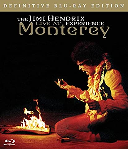 Jimi Hendrix: Live At Monterey [Blu-ray] [2008]