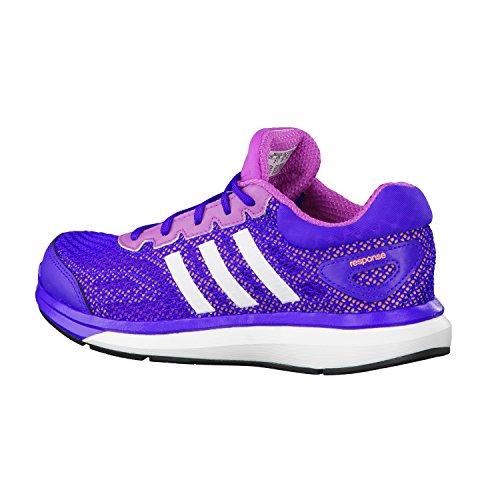 Adidas Response Junior Scarpe Da Corsa - SS15 Viola (flash pink s15/ftwr white/flash orange s15)
