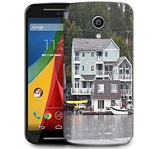 Snoogg Alaska Transportation Designer Protective Phone Back Case Cover For Motorola G 2nd Genration / Moto G 2nd Gen