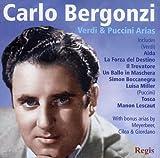 Carlo Bergonzi : Récital Verdi, Puccini.