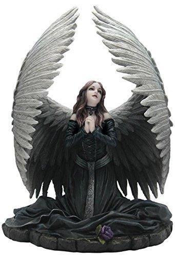 Nemesis Now Anne Stokes Prayer for The Fallen Praying Angel Wearing Black Figurine -