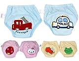 BONAMART 2 Stück Baby Junge Mädchen Kids Trainerhosen Unterwäsche 80 90 95 100 cm, 6 Einheiten Mehrfarbig, 80CM
