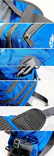 Sport Outdoor hüfttaschen mit trinkflasche Schwarz
