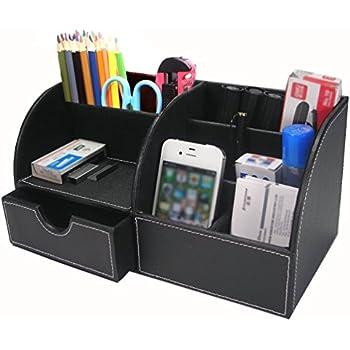 KINGFOM Büro Schreibtisch Organizer Ordnungssystem Tisch