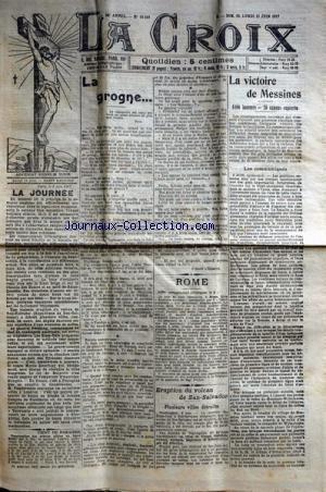 CROIX (LA) [No 10510] du 10/06/1917