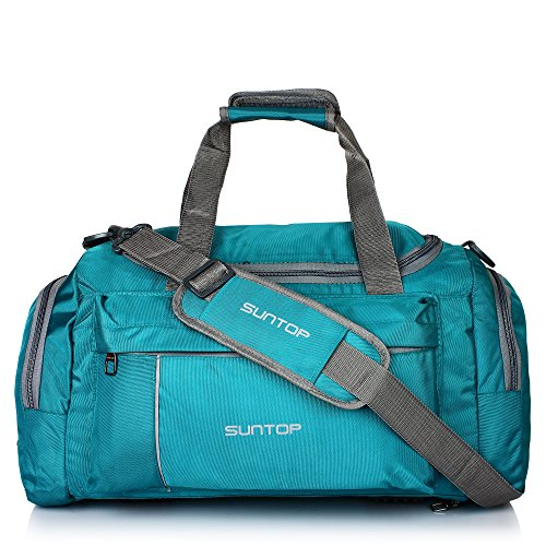 Suntop Alive Nylon Polyester 40 Litres 20 Inch Sea-Green Travel Duffle