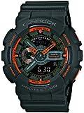 Casio Men's Watch XL Analogue-Digital Display and G-Shock Resin GA - 110TS - 1A4ER
