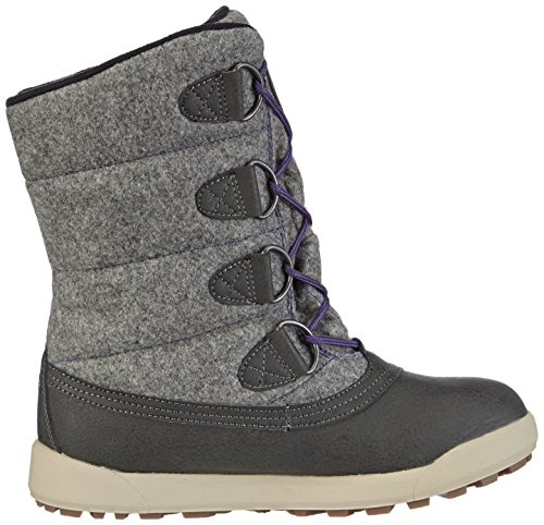 Hi-Tec Lexington Mid 200 i WP W' Damen Trekking- & Wanderstiefel Schwarz (Coal/Charcoal/Purple 021)
