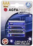 Piles LR3/AAA ALKALINE 1100mAH, LR03 / AAA - 1.5 v - confezione da 4, AGFAPHOTO