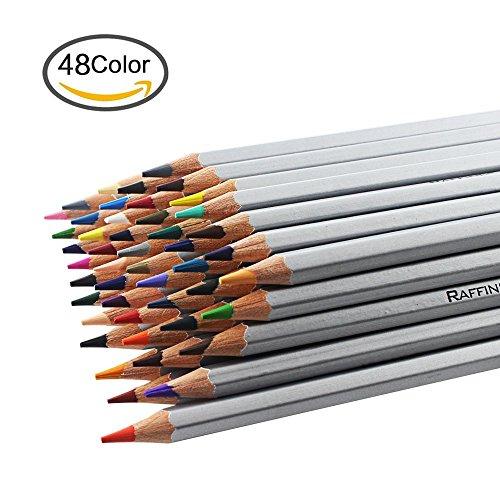 NIUTOP 48 Color Premier suave núcleo arte dibujo lapices de dibujo del artista adulto secreto jardín para colorear libro / niños artista escritura / arte Manga, Set de Marco 48 colores surtidos