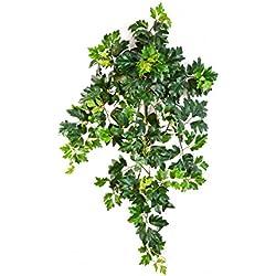 artplants Künstliche Königsweinranke HEROPHILA mit 350 Blättern, grün, 70 cm - Kunstranke/Dekopflanze
