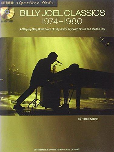 Billy Joel Classics 1974-1980: (Piano/vocal/guitar)