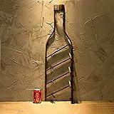 Metallo Portavini Bar Può Decorazioni Per La Casa Portavini Parete Bottiglie Di Vino Rack Cucina Ristorante Porta Bottiglie Da Vino Portavini Vintage