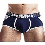 PUMP! Access Trunk Navy Jockstrap Bottomless
