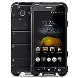 Ulefone ARMOR - 4.7 pouces Écran Corning Gorilla Glass 3 Imperméable à l'épreuve des chocs antipoussière IP68 4G smartphone Android 6.0 Octa Core 1.3GHz 3 Go RAM 32 Go ROM 5MP + 13 MP NFC GPS Ultra mince - Noir