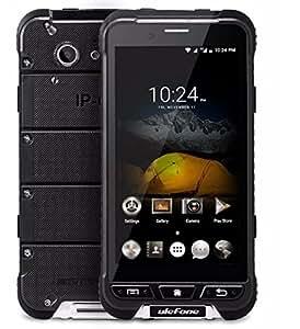 Ulefone ARMOR - 4.7 pollici Corning Gorilla Glass 3 schermo impermeabile antiurto antipolvere IP68 4G smartphone Android 6.0 Octa core a 1,3 GHz 3GB di RAM 32GB ROM 5MP + 13 MP fotocamera NFC GPS Slim corpo - Nero