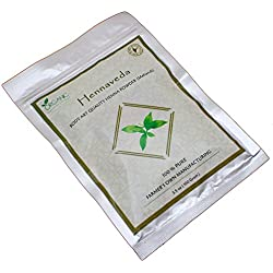 Hennaveda Natural Body Art Quality Henna Powder/ Triple filtered Lawsonia Inermis 100g