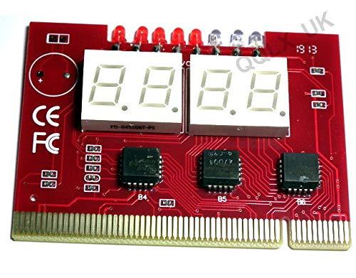 Generic R Card Mothe Tester PC 4-stellige Oard T Diagnosekarte Diagnosekarte Motherboard Digit