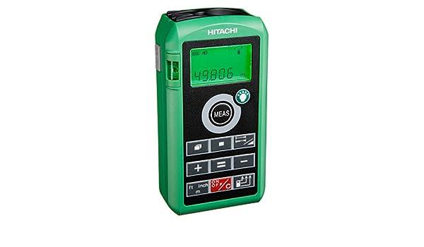 Hitachi Laser Entfernungsmesser Ug50y : Digitaler laser entfernungsmesser hitachi ug y amazon baumarkt