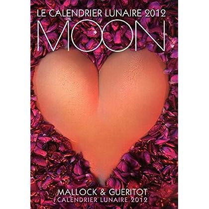 Le calendrier lunaire mural moon 2012