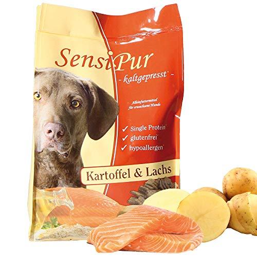 SensiPur Kartoffel & Lachs 4 - Hundefutter Fische