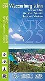 ATK25-O14 Wasserburg a.Inn (Amtliche Topographische Karte 1:25000): Amerang, Edling, Gras a.Inn, Griesstätt, Rott a.Inn, Schnaitsee (ATK25 Amtliche Topographische Karte 1:25000 Bayern)