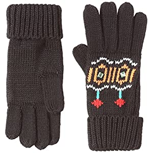 Desigual Gloves_Eternal Guantes, Negro 2000, única (Talla del Fabricante: One Size) para Mujer