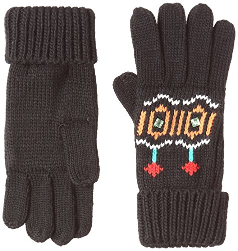 Desigual Gloves_Eternal, Guantes para Mujer, (Negro 2000), única (Talla del Fabricante: One Size)