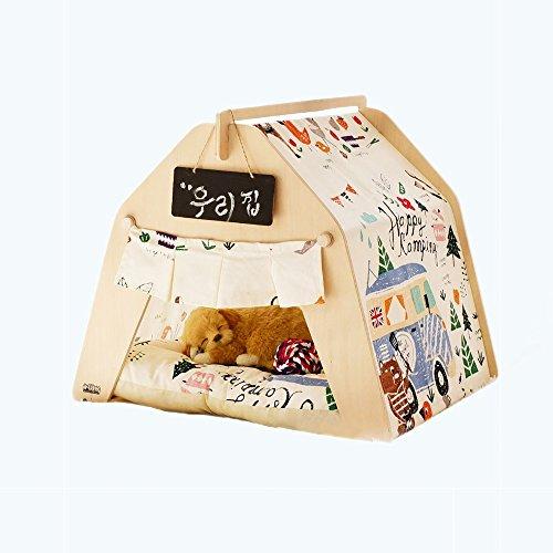 Yxiny casette per cani tenda per animali domestici carino bel letto per animali domestici pet casa per cani rimovibile e lavabile prodotti per animali autunno e inverno tappeto spesso 6 stili