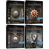 Game of Thrones: Seasons 1-4 Limited Edition Blu-Ray Steelbook Bundle with Collectible Sigil Magnets