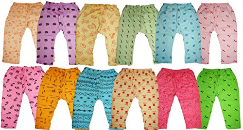 KIFAYATI BAZAR Kid's Cotton Multicolour_Small (Pack of 12)