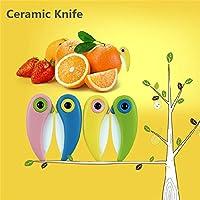 4Pcs Bird Folding Mini Ceramic Knife Vegetable Fruit Paring Knives