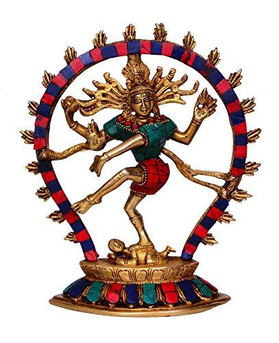 Purpledip hindú dios Shiva Dancing Nataraja Estatua