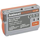 Hähnel 10001508HLX de el15hp Extreme Batterie Li-Ion pour NIKON D500/D610/D750/D810/D7200Orange (7V, 2000mAh