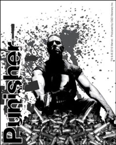 "Preisvergleich Produktbild The PUNISHER BULLET Decal, Officially Licensed Movie & TV Artwork, 5"" x 4"" - Long Lasting STICKER"