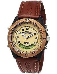 Timex Expedition Analog-Digital Beige Dial Men's Watch - MF13