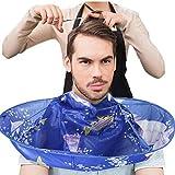 Tablier à Barbe Cape De Barbier Kangrunmy Diy Cheveux Coupe Manteau Parapluie Cap Salon Barber Salon Maison Tablier Ramasse-Poils Pour Un Rasage Facile D' Inside Tronix Et Professional Rasage Peigne