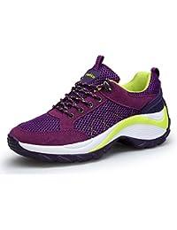 KOUDYEN Femme Chaussure de Sport Baskets de Running Gym Fitness Course Sneakers Basses
