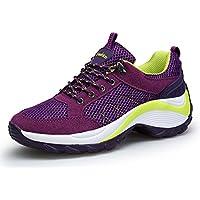DAFENP Donna Sneakers Scarpe da Ginnastica Corsa Sportive Fitness Running  Basse Interior Casual all Aperto 877982269a6