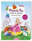 Prinzessin Pias schönste Kleider - Mein Anzieh-Stickerbuch: Mit wieder ablösbaren Stickern