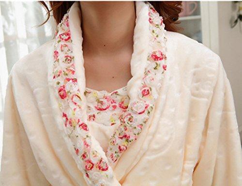 QPALZM Version Coréenne De L'automne Et L'hiver, Plus Velours épais Chemise à Manches Longues white