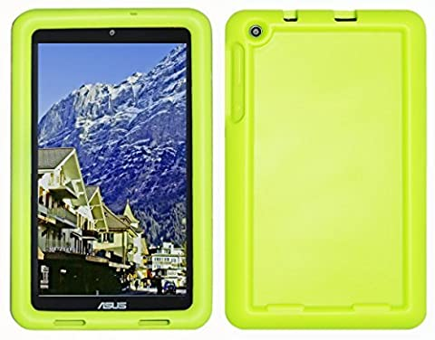 Bobj Silikon-Hulle Heavy Duty Tasche fur ASUS MeMO Pad 8 Tablette (ME181C, ME181CX, K011, MG8, MG181C, MG181CX) und ASUS VivoTab 8 (M81C, K01G) - BobjGear Schutzhulle (Grun)