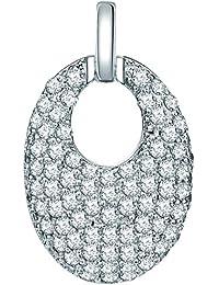 Rafaela Donata Damen-Anhänger Classic Collection Zirkonia weiß 925 Sterling Silber 60837033