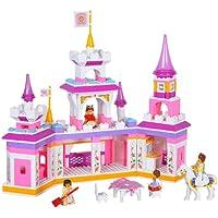 Sluban niña de sueño mágico castillo 385piezas, juego de bloques de construcción