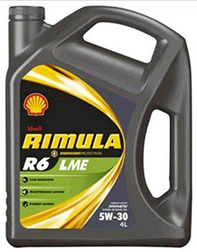 Shell Rimula R6 LME 5W-30 Motoröl, 4 Litre