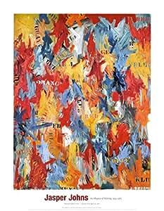 Jasper Johns – Faux départ Impression d'art Print (71,12 x 91,44 cm)